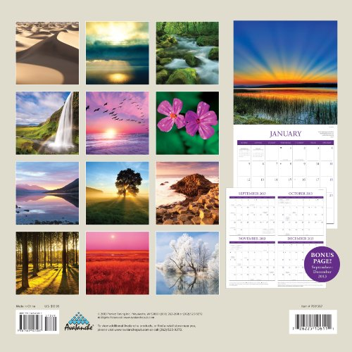 Perfect Timing – Avalanche 2014 Bible Verses Wall Calendar, 12 Month (Jan 2014- Dec 2014), 12 x 24 Inches opened (7001567)