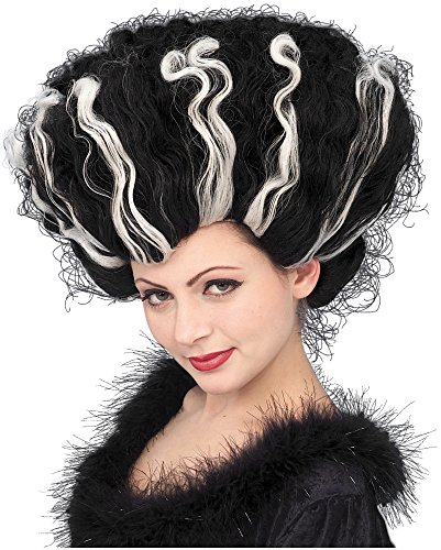 Deluxe Monster Bride Wig Costume Accessory (Monster Bride Wig)
