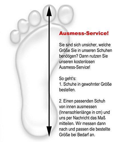 Sonia Originelli Hüttenhausschuh Schaffell Lammfell Feste Sohle Leder Marineblau