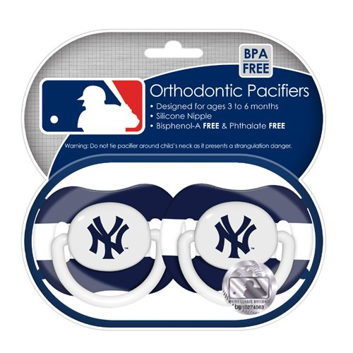 MLB New York Yankees Sucettes, 2-Pack