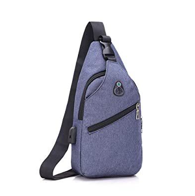 9e041b2ea0cee Kasonj Männer Casual Crossbody Casual Praktische Hohe Kapazität Schulter  Rucksack Brusttasche  Amazon.de  Schuhe   Handtaschen