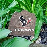 NFL Houston Texans Team Logo Faux Rock Lawn Decor