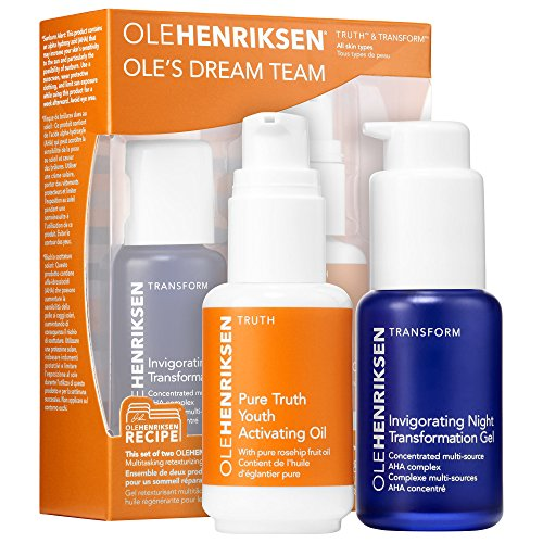OLEHENRIKSEN Ole Henriksen Ole s Dream Team with Pure Truth Youth Activating Oil and Invigorating Night Transformation Gel