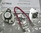 Washers & Dryers Parts 279816 for Whirlpool Dryer Thermostat Thermal Fuse includes 3390291 3977393