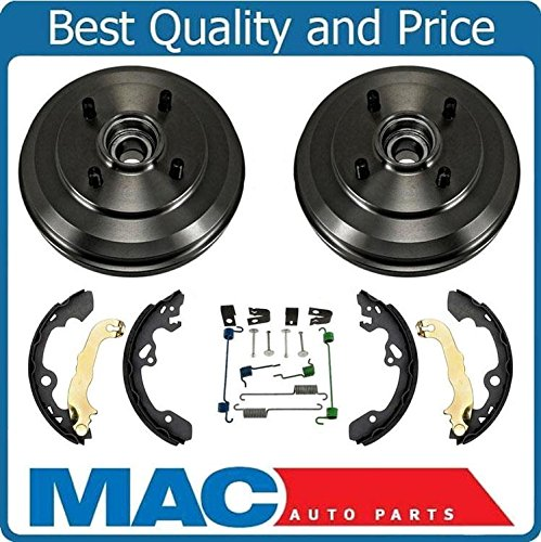 09-11 Focus 100% New Rear Drum Wheel Bearing Brake Shoes Brake Spring Kit 4Pc