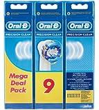Oral-B PrecisionClean EB20-6+3 cabezales de cepillo