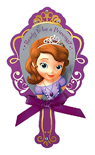 Disney Sofia The First Invitations | Pack of 8 | Party Supply]()