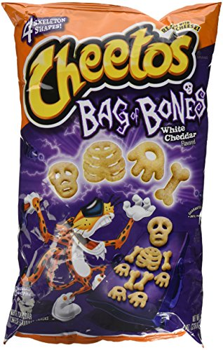 Cheetos limited-edition Cheetos Bag of Bones White Cheddar