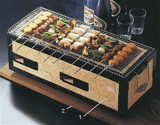 Konro Charcoal Barbecue Grill Buy Online In Uae Konro