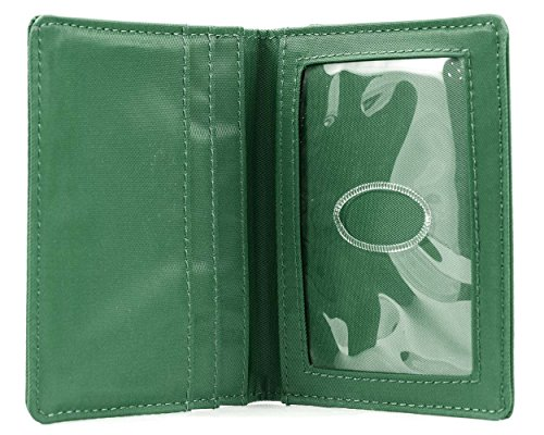 Big Skinny New Yorker ID Slim Wallet, Holds Up to 24 Cards, Verdant Green: Amazon.es: Deportes y aire libre