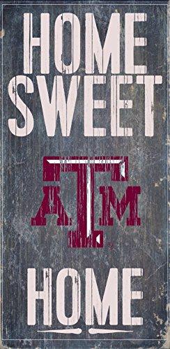 (Texas A&M Aggies Sign Home Sweet Home Wall Art)