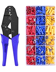 ULTECHNOVO 1 Set Heat Shrink Wire Connectors Kit Wire Crimper 30J 0.5-6 Electrical Insulated Crimp Marine Automotive Terminals Terminal Tool for Professional Daily Use