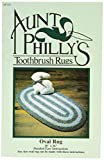 Aunt Philly's Toothbrush Quilts AP101 Oval Toothbrush Rug