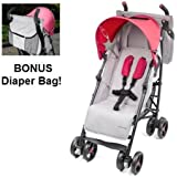 Baby Cargo Series 50 Deluxe Lite Baby Stroller Bundle Pink by Baby Cargo