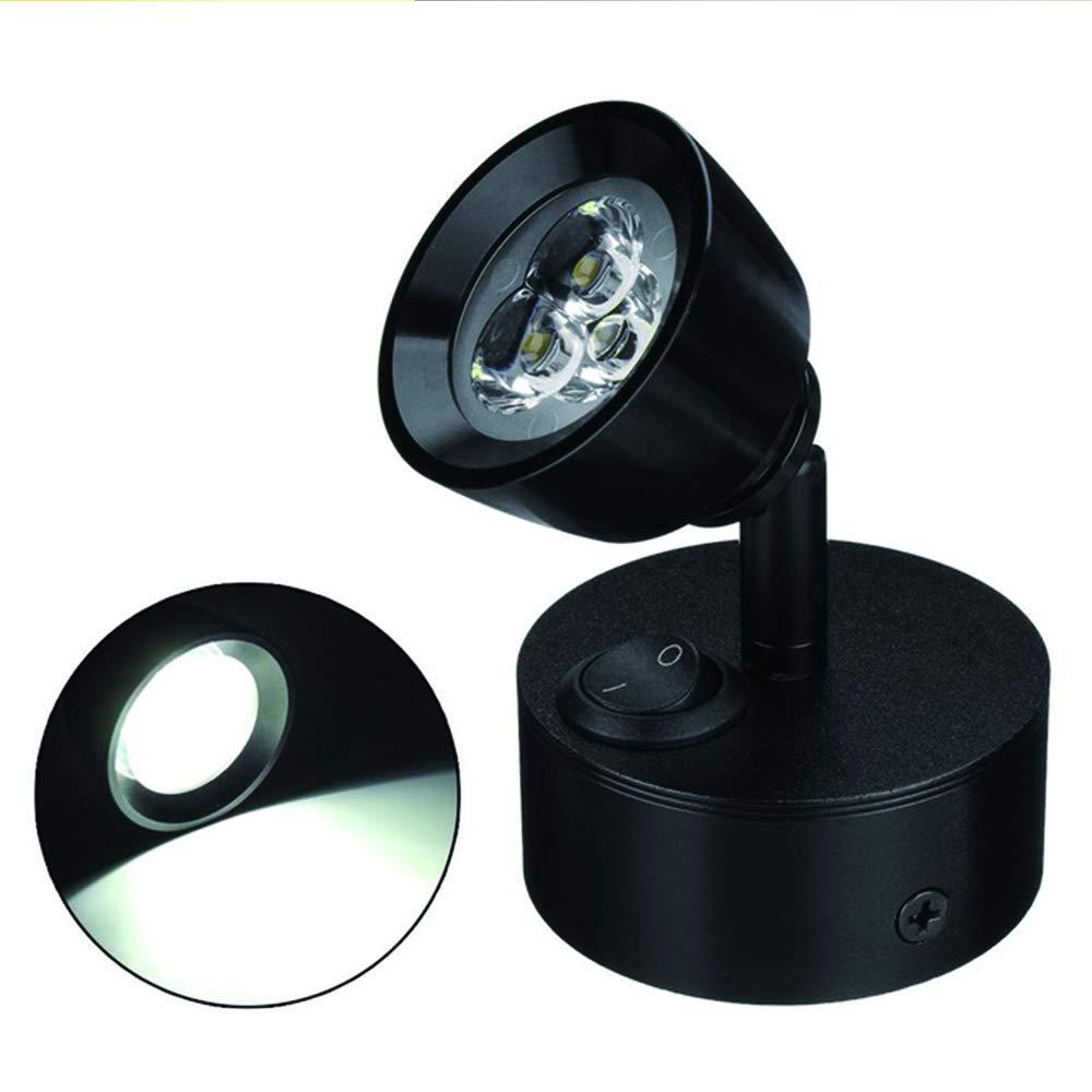MASO 12V LED Interior Reading Light Wall Spot Lights for Van Caravan Boat Motorhome Bedroom Lighting White