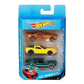 Hot Wheels K5904 Hot Wheels Basic Car Assortment 3 Pack