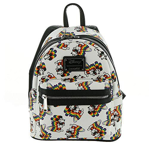 aa4cc619372 ... the Beast Print Standard · Loungefly Mickey Mouse Rainbow Mini Backpack