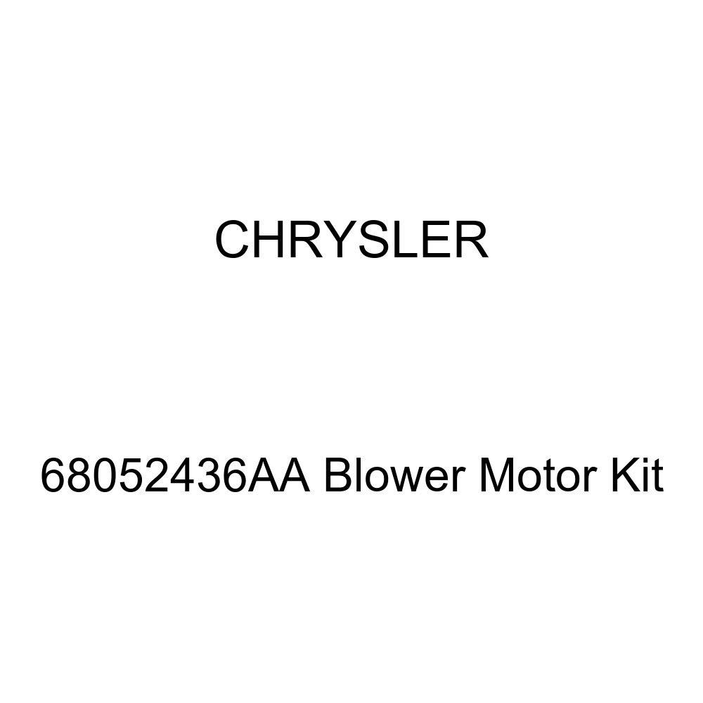 Genuine Chrysler 68052436AA Blower Motor Kit