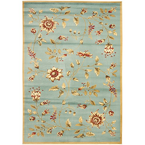 Safavieh Lyndhurst Collection LNH552-6591 Traditional Floral Blue and Multi Area Rug (5'3