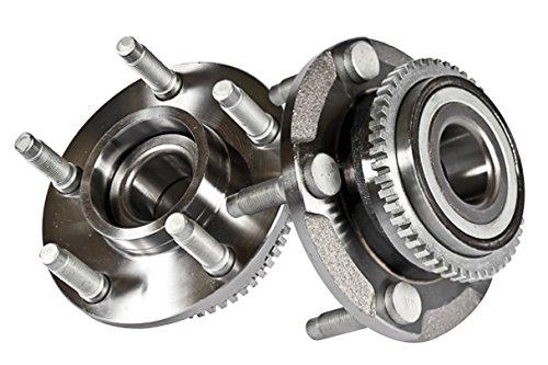 Callahan 513115X2 [2] Pair FRONT Premium Grade [ 5 Lug ] Wheel Hub Bearing Assemblies [ SN95 ]
