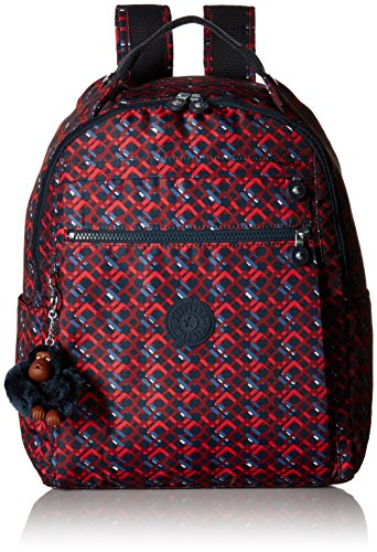 Micah Medium Printed Laptop Travel Backpack Backpack, Groovy Lines, One Size