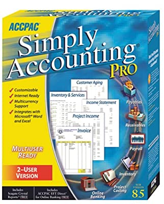 Simply Accounting Pro 8.5 (2-user)