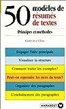 50 modèles de résumés de textes
