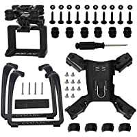 Spare Part for Hubsan H501S X4 H501C FPV Quad, Update Landing Gear Legs & Action Camera Gimbal Mount Holder Adapter Bracket, Black