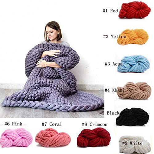 KNITTING PATTERN FOR WARM BLANKET ~IN 6 SIZES