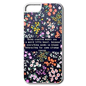 IPhone 5/5s Cases Being Creative Design Hard Back Cover Proctector Desgined By RRG2G by runtopwell