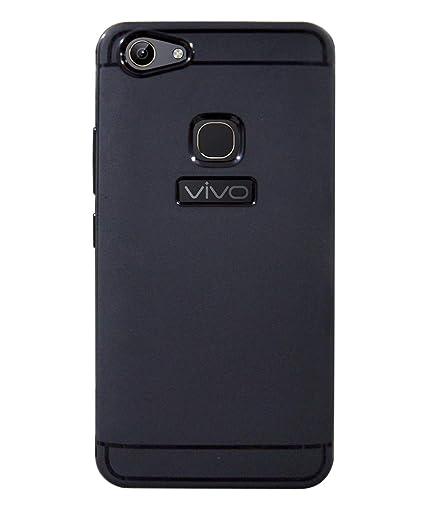 quality design c15d5 e3cb1 COVERBLACK Rubber Soft Back Cover for Vivo Y81 - Vivo: Amazon.in ...