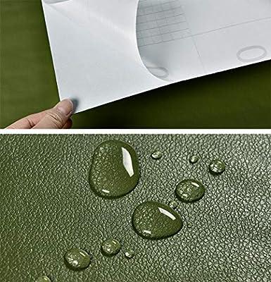 MagicValley Papel Pintado de Piel sintética para estantes ...