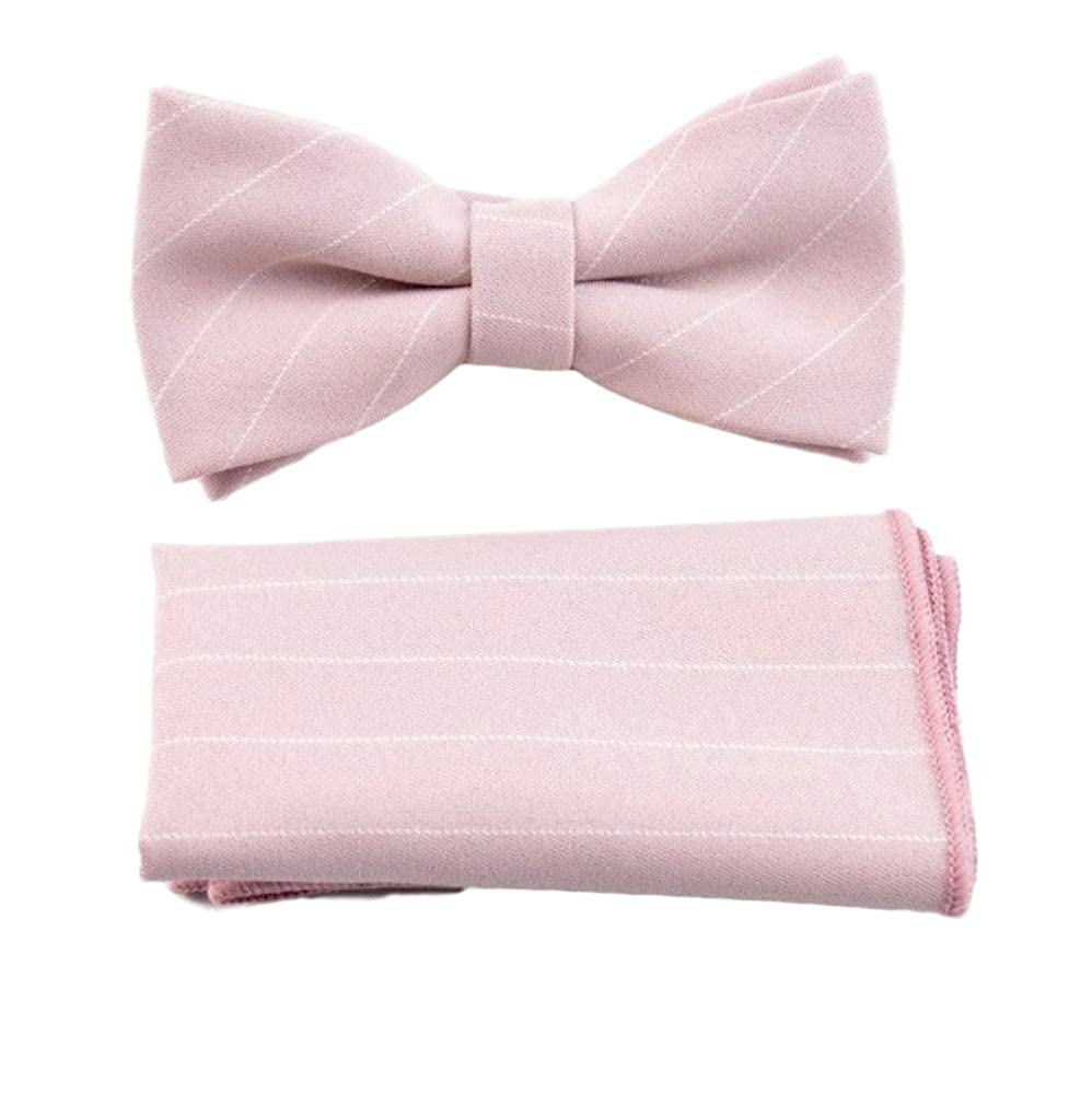 Pa/ñuelo rosa claro rayas VREELANT Pajarita