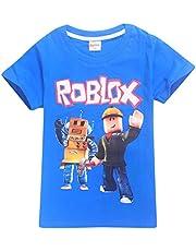 2019 Boys T-Shirts 3D Cartoon T-Shirt Family Games Tops Tees for Boys Girls, 100% Cotton Made