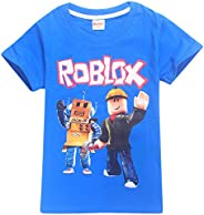 2019 Boys T-Shirts 3D Cartoon T-Shirt Family Games Tops Tees for Boys Girls, 100% Cotton Made