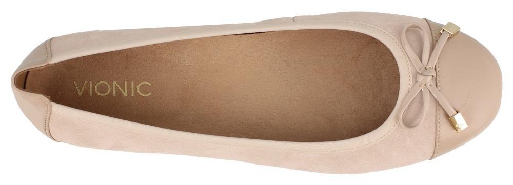 Vionic Women's Spark Minna W Ballet Flat B079VL5R7W 7.5 W Minna US|Sand fc0362
