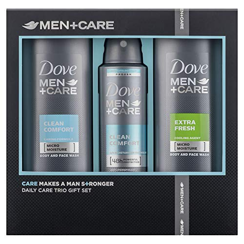 Dove Set - Dove Men Daily Care 3 Piece Gift Set