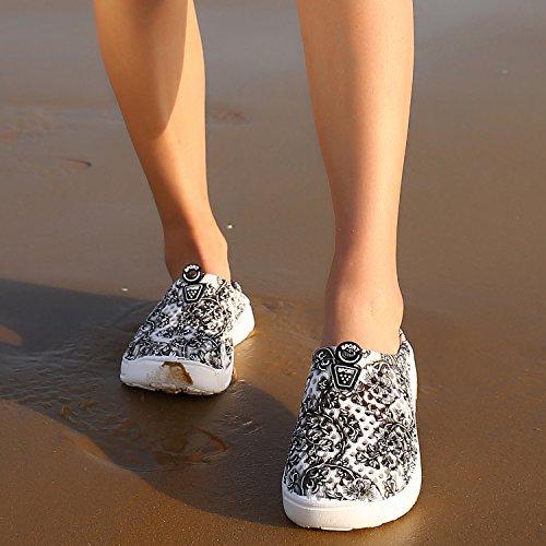 Shoes Slippers Water Womens Gray Clog Summer Footwear bash 2 OUYAJI Beach Garden EqxECB