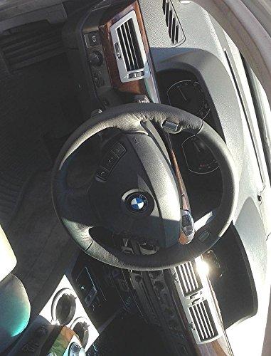Amazon.com: RedlineGoods BMW 7-series E65 2001-08 cubierta del volante 3 de: Automotive