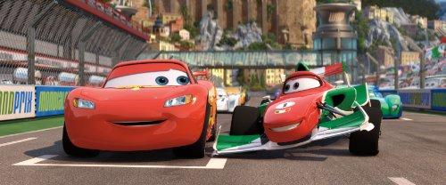 Amazon Com Cars Two Disc Blu Ray Dvd Combo In Blu Ray
