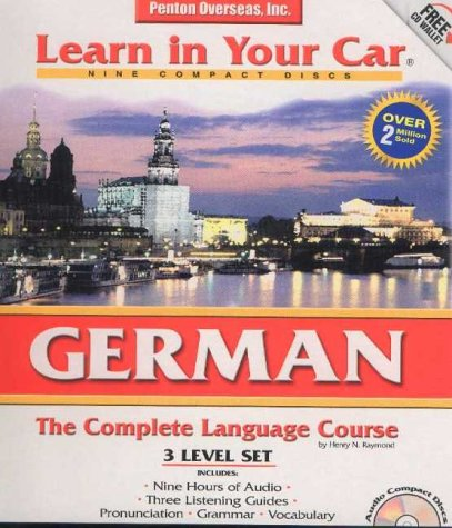 3 CDs Listening Guide Learn in Your Car German Level 3 Foreign Language Series