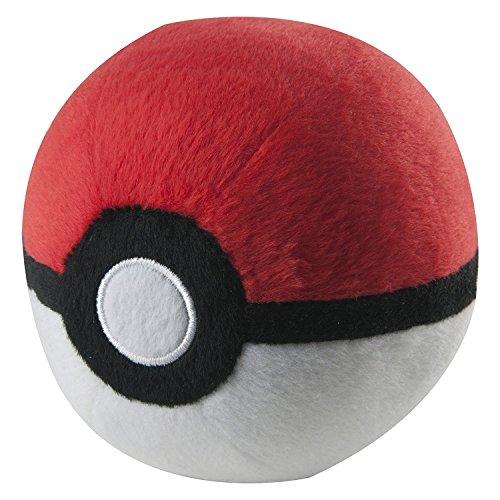 Tomy Pokemon Poke Ball Plush Stuffed Toy