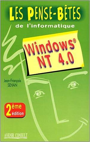 Lire un Windows NT 4.0 epub, pdf