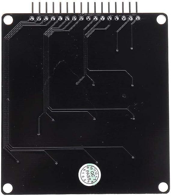 Bin Zhang 16 teclas capacitivas Touch Key Pad módulo: Amazon ...