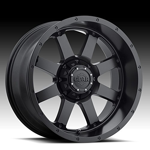 Gear Alloy 726B Big Block Satin Black Wheel with (20x12/8x6.50, -44mm Offset)