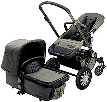 Coche para bebé Bugaboo Cameleon3 Complete Stroller - Diesel Camouflage (Special Edition)