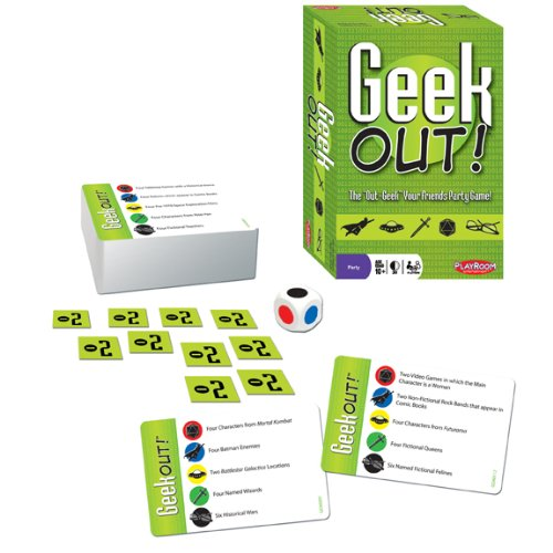 Party Game of Geeky Trivia – Geek Out!