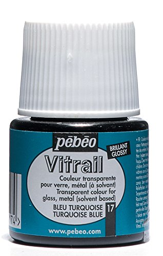 Pebeo Vitrail Glass Paint Turquoise
