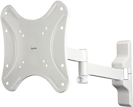 Hama Fullmotion - Soporte de pared para TV (tamaño L), color blanco (importado): Amazon.es: Electrónica