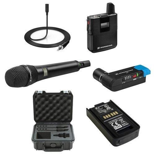 Sennheiser Camera Mountable Wireless Waterproof Recharging